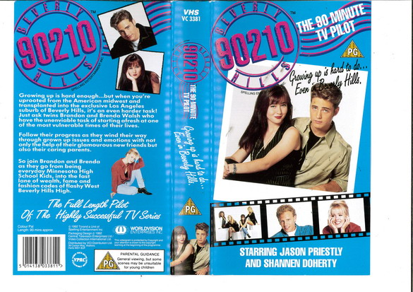 BEVERLY HILLS 90210 (VHS) UK