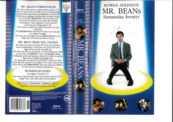 MR.BEAN'S FANTASTIKA ÄVENTYR (VHS)