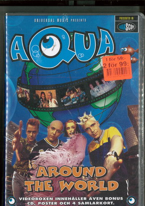 AQUA - AROUNF THE WORLD (MUSIK-VHS) ny