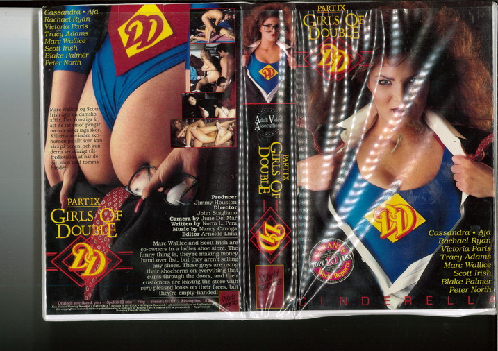 GIRLS OF DOUBLE PART 9 (VHS)