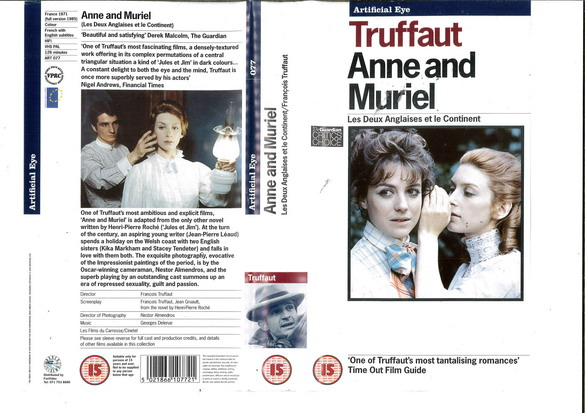 ANNA AND MARIEL (VHS) UK