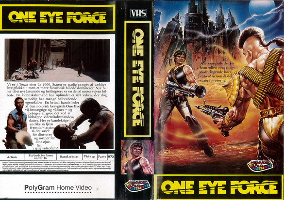 ONE EYE FORCE (VHS) DK