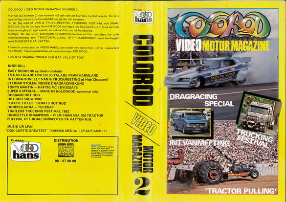 COLOROD - VIDEO MOTOR MAGAZINE 2 (VIDEO 2000)