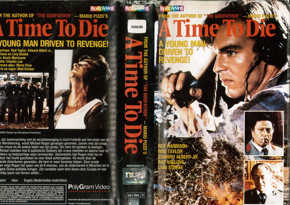 A TIME TO DIE (VIDEO 2000) HOL