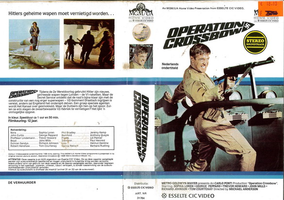 OPERATION CROSSBOW (VHS) HOL