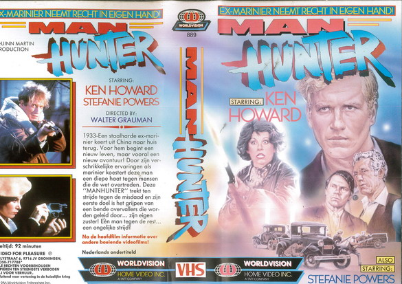 MAN HUNTER (VHS) HOL