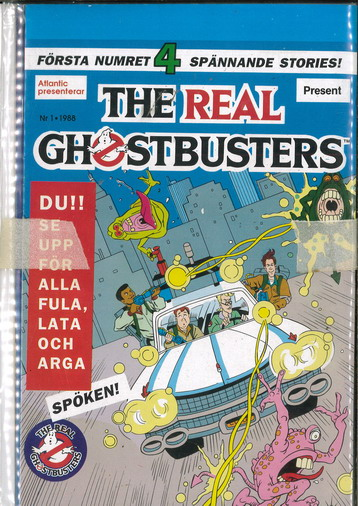 REAL GHOSTBUSTERS 1988:1