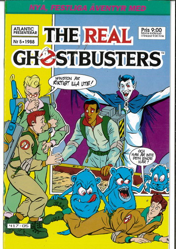REAL GHOSTBUSTERS 1988:5