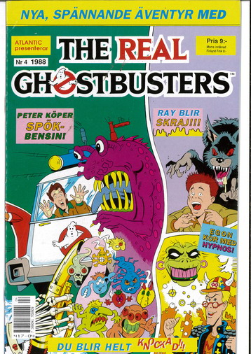 REAL GHOSTBUSTERS 1988:4