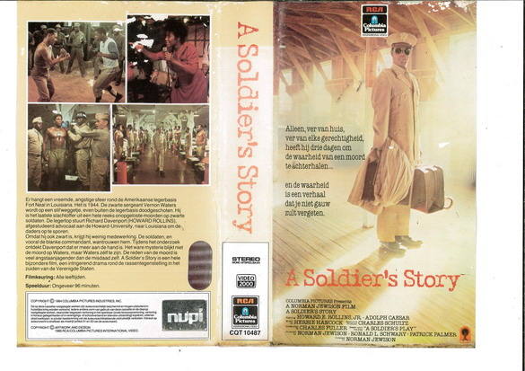 A SOLDIER'S STORY (VIDEO 2000) HOL