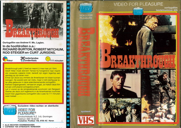 BREAKTHROUGH (VHS) HOL