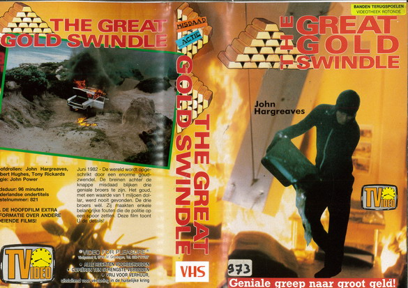 GRETH GOLD SWINDLE (VHS) HOL