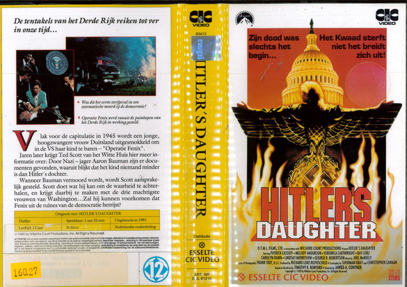 HITLER'S DAUGHTER (VHS) HOL