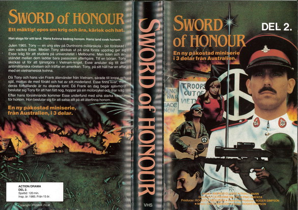 SWORD OF HONOR DEL 2 (VHS)