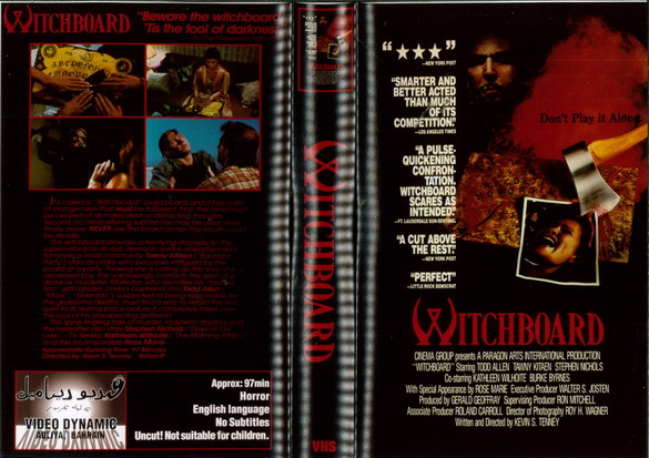 WITCHBOARD (VHS) BAH