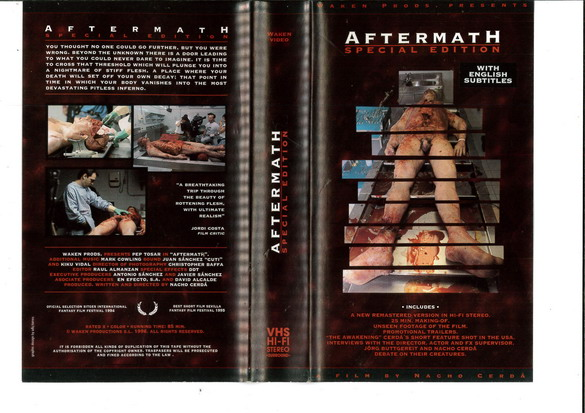 AFTERMATH - SPECIAL EDITION (VHS) IMPORT