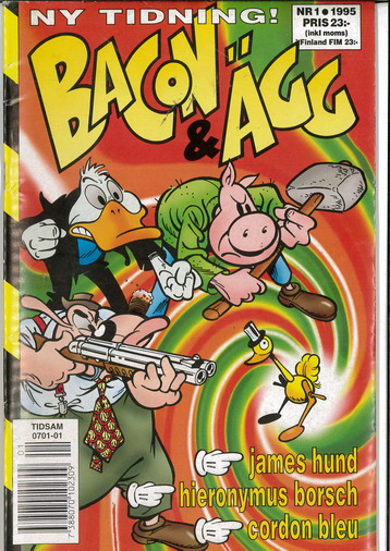 BACON & ÄGG 1995:1