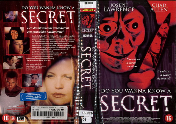 DO YOU WANNA KNOW A SECRET (VHS) HOL