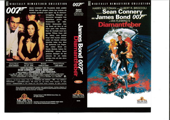 Diamantfeber (VHS)