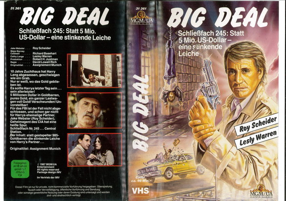 BIG DEAL (VHS) IMPORT