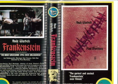 FRANKENSTEIN (VHS) IMPORT