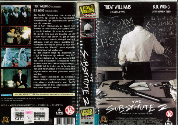 SUBSTITUTE 2 (VHS) HOL