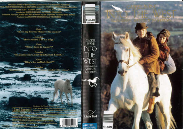 INTO THE WEST (VHS) UK