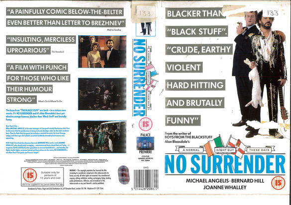 NO SURRENDER (VHS) UK