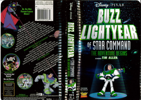 BUZZ LIGHTYEAR (VHS) USA