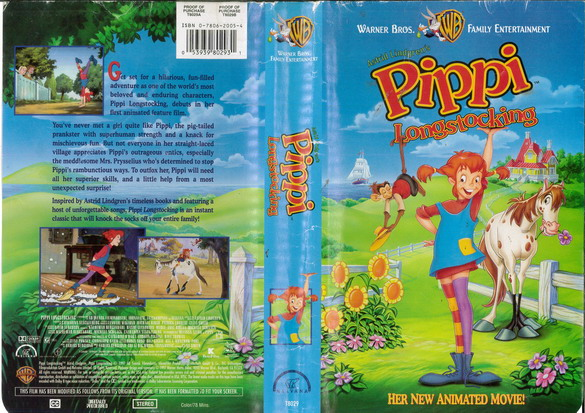 PIPPI LONGSTOCKING (VHS) USA