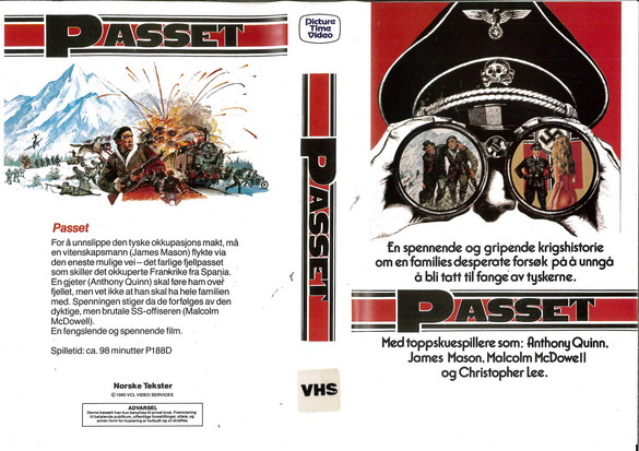 PASSET (VHS) NORGE