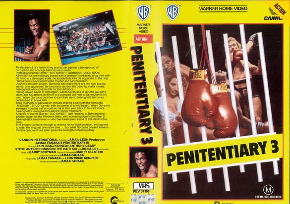 PENITENTIARY 3 (VHS) AUS