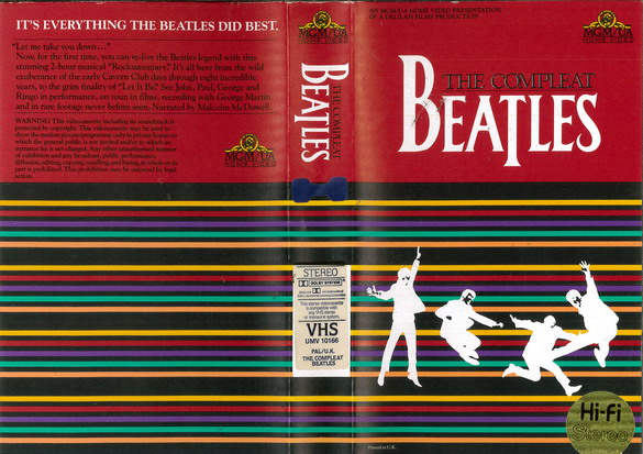 COMPLEAT BEATLES (VHS) UK