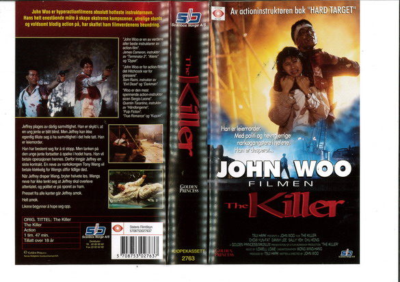 KILLER.THE (VHS) NORGE