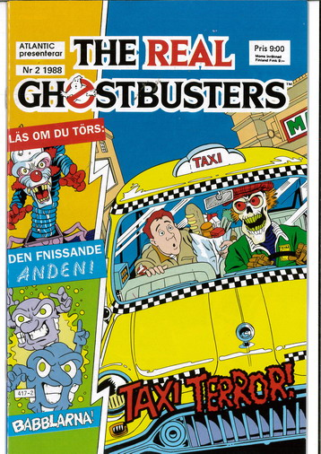 REAL GHOSTBUSTERS 1988:2