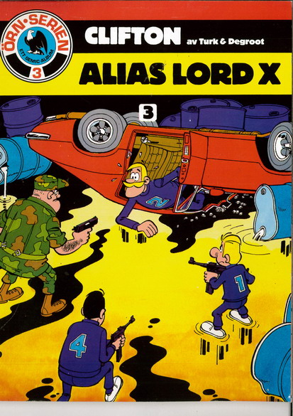ÖRN SERIEN  3 CLIFTON - ALIAS LORD X