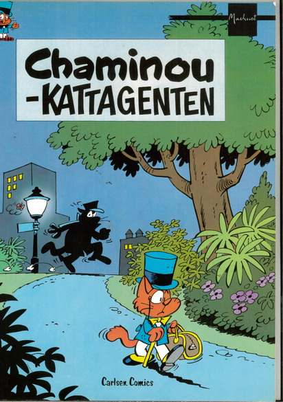 CHAMINOU - KATTAGENTEN