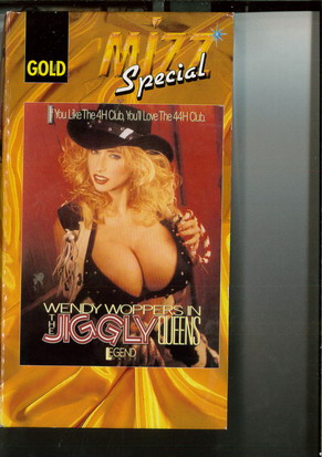 463 THE JIGGLY QUEENS (VHS)
