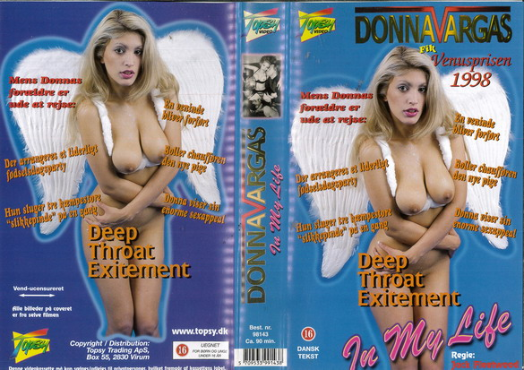 DONNA VARGAS IN MY LIFE (VHS) DK