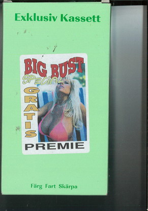 BIG BUST SPECIAL (VHS)