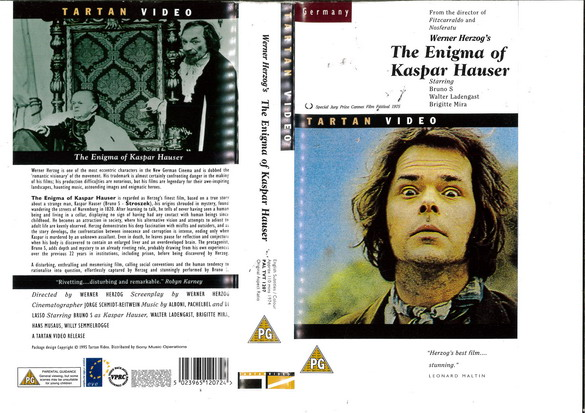 ENIGMA OF KASPAR HAUSER (VHS) UK