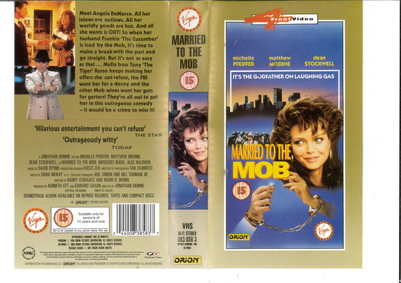 MARRIED TO THE MOB (VHS) UK