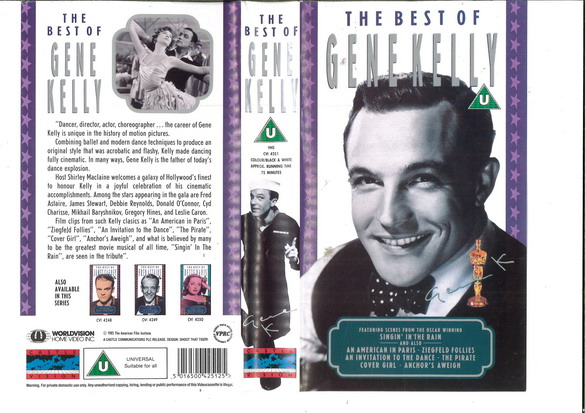 BEST OF GENE KELLY (VHS) UK
