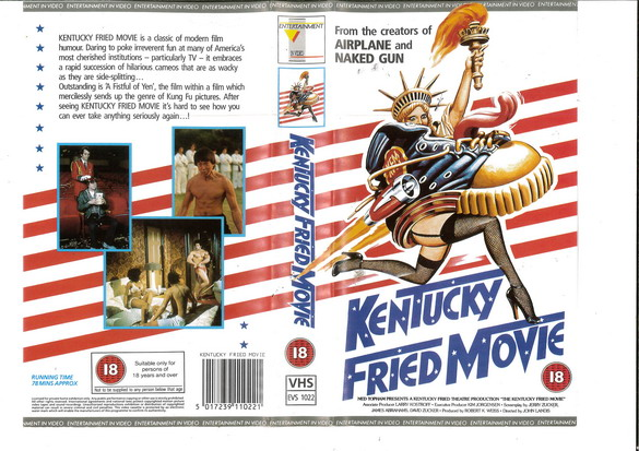 KENTUCKY FRIED MOVIE (VHS) UK