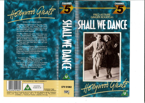 SHALL WE DANCE (VHS) UK