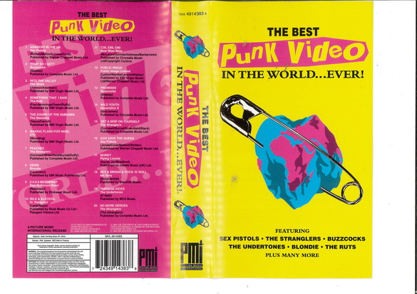 THE BEST PUNK VIDEO IN THE WORLD...EVER! (VHS)
