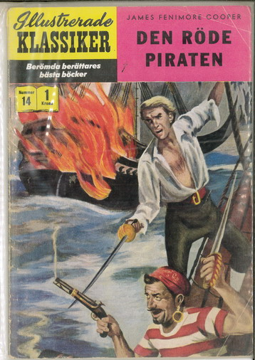 ILLUSTRERADE KLASSIKER NR: 014 - DEN RÖDE PIRATEN
