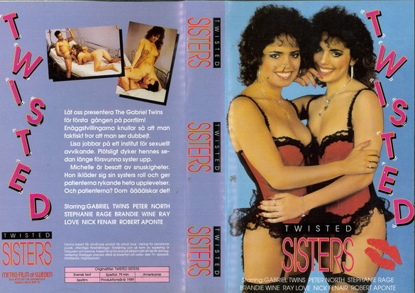 TWISTED SISTERS (VHS)