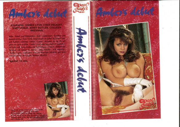 AMBER'S DEBUT (VHS)