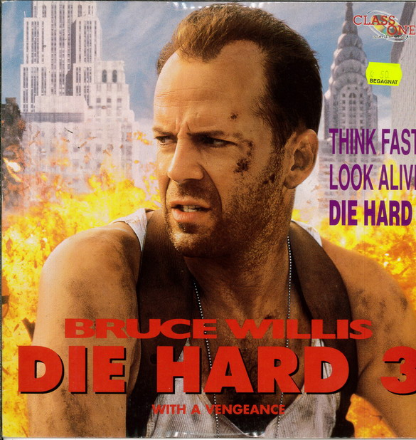 DIE HARD 3: WITH A VENGEANCE (LASER-DISC)